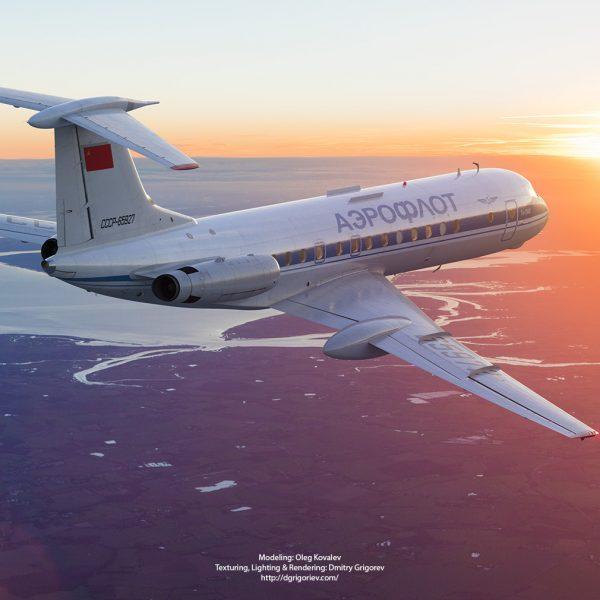 Tu-134 A3