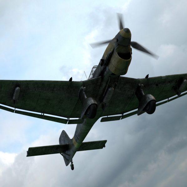 Ju-87 Stuka – Dive Bomber